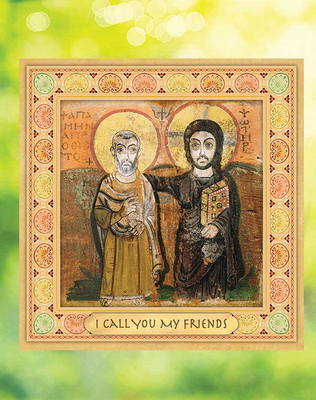 Christ the True Friend Window Vinyl