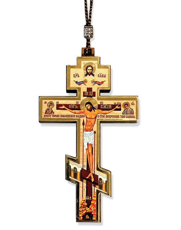 Cross Car Pendant