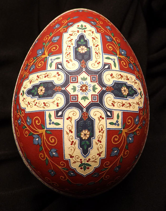 Cross of the East Fine Art Egg