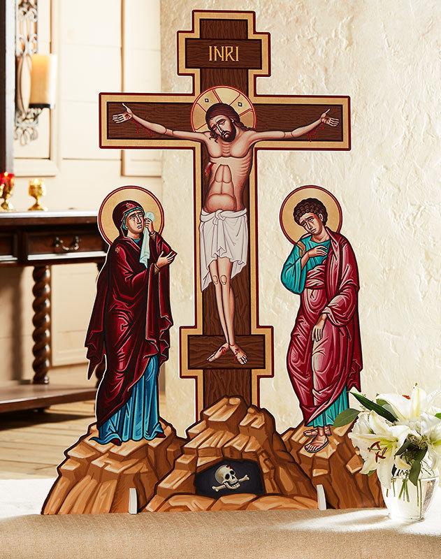 Crucifixion Indoor-Outdoor Display