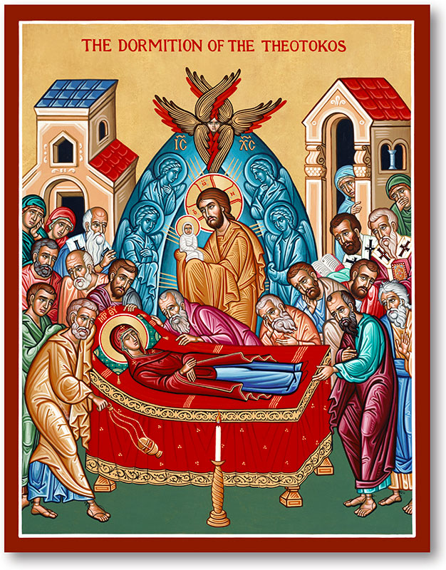 Great Feast Icons: Dormition of Mary Icon | Monastery Icons