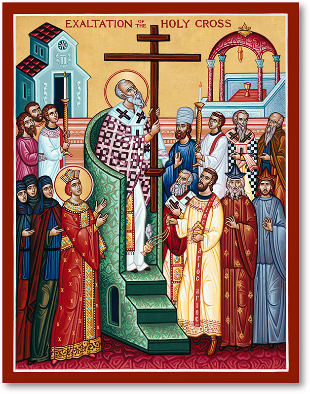 Great Feast Icons: Exaltation of the Cross Icon | Monastery Icons