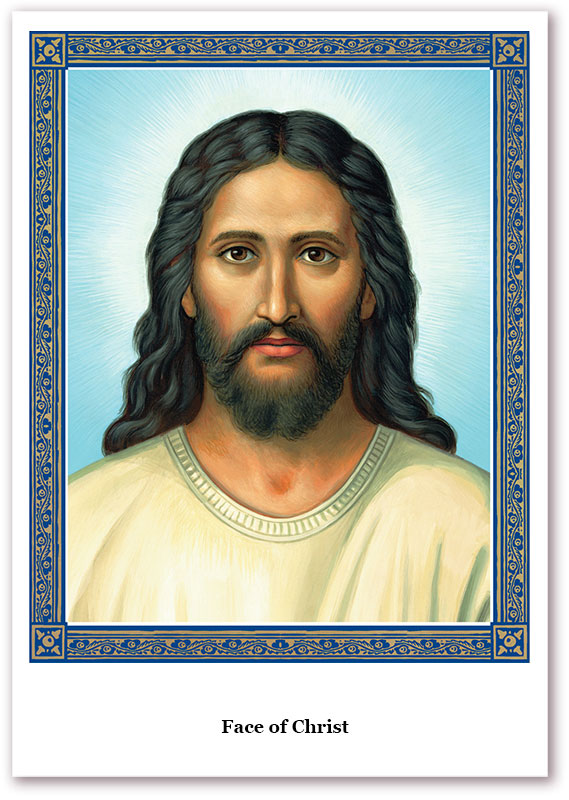 Face of Christ Holy Cards