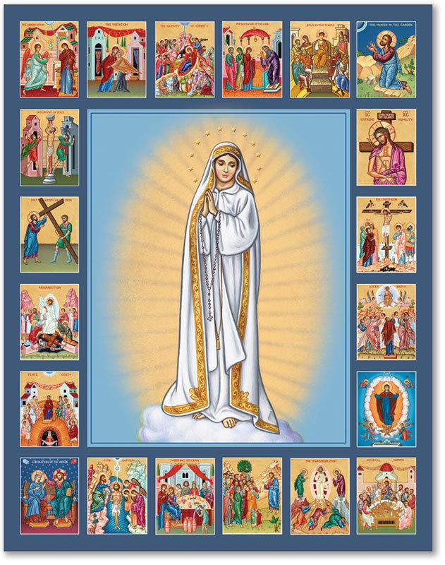 Fatima Rosary Icons | Monastery icons