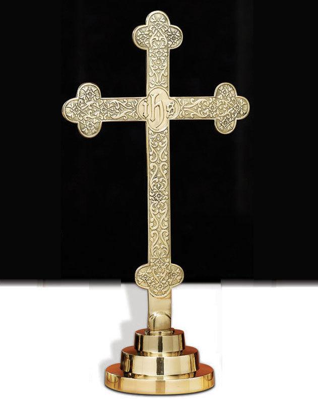 Filigree Trefoil Cross