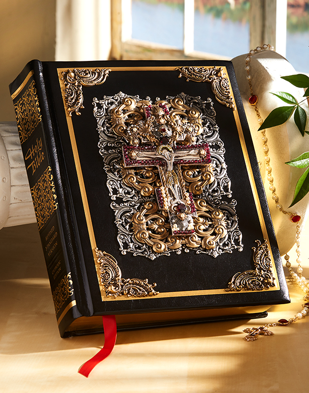 Hardcover RSV Jewelled Catholic Bible