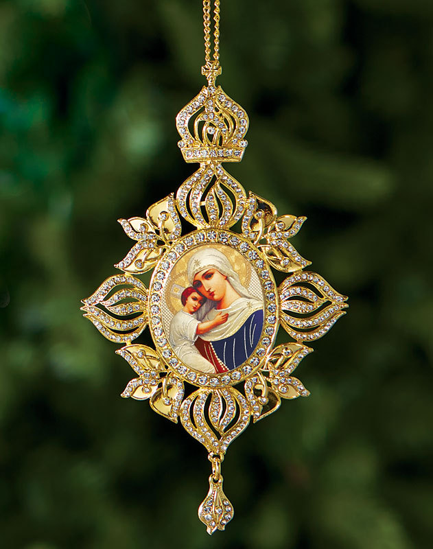 Virgin of Hope Heirloom Icon Ornament