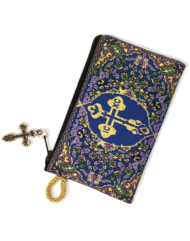 Holy Cross Rosary Pouch