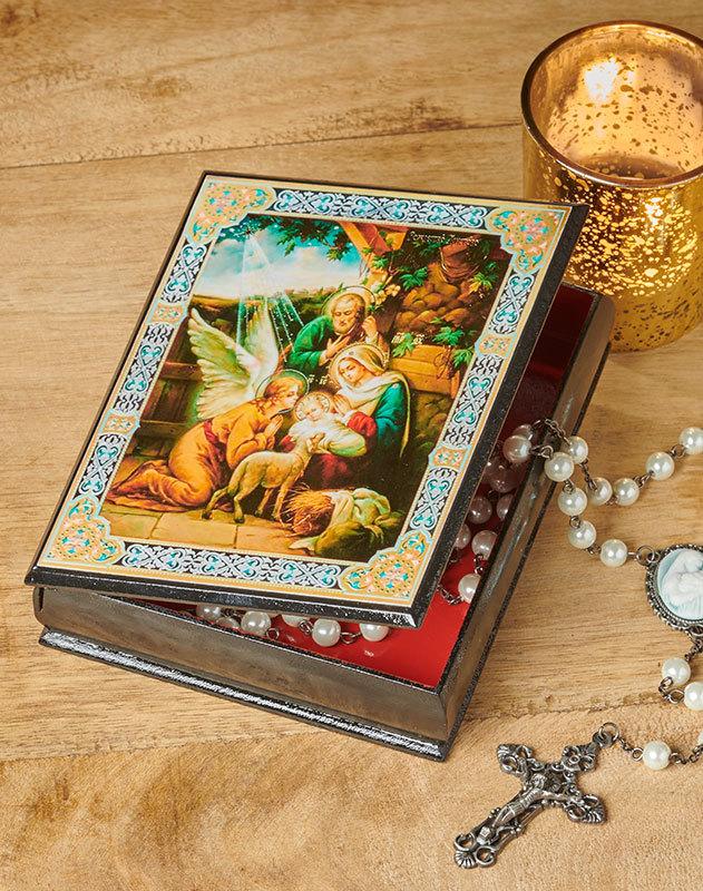 Holy Family Ornate Box