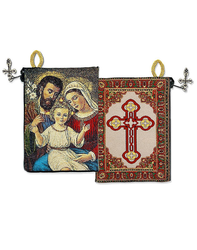 Holy Family Rosary Pouch