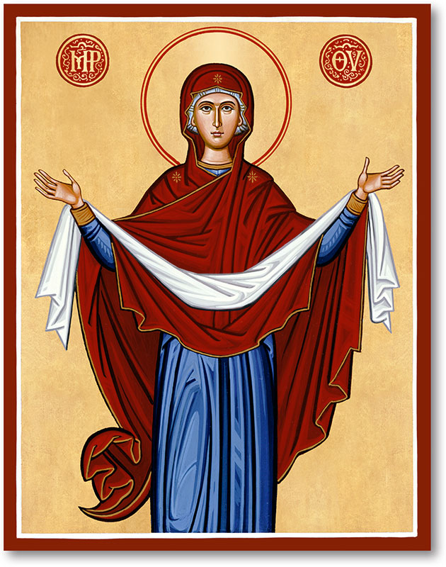 Holy Protection Icon