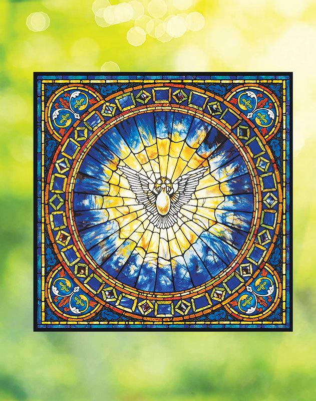 Holy Spirit Vinyl Window Icon
