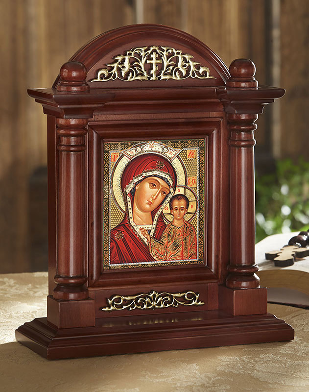 Icon Home Shrine - Our Lady of Kazan