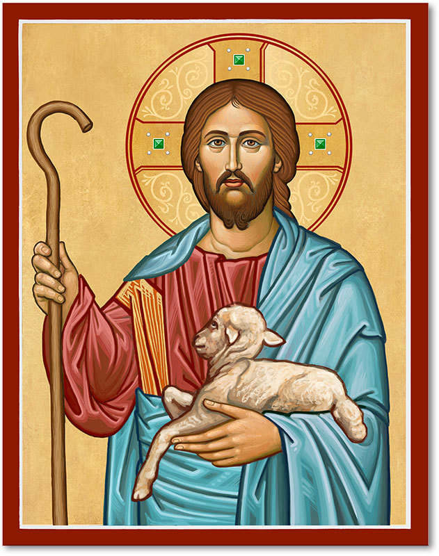I Am The Good Shepherd Icon