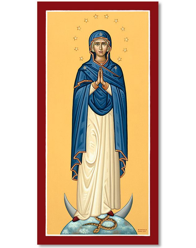 "Immaculate Conception Original Icon 20"" tall"