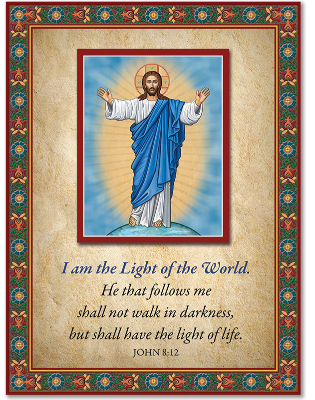 Light of the World Inspirational Icon
