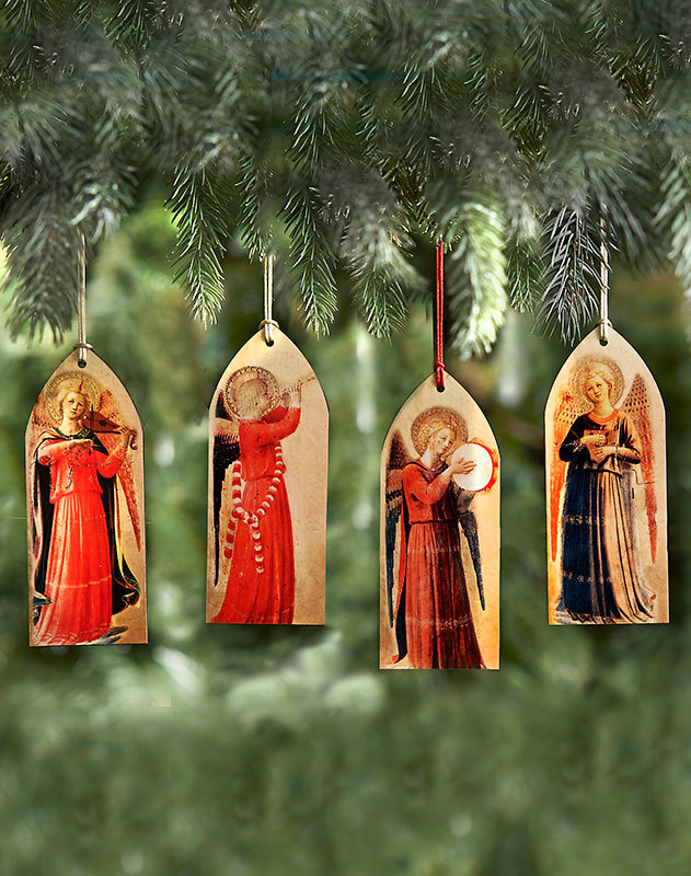 Musical Angels Ornament Set