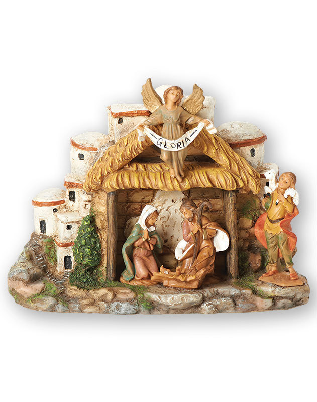 Musical Nativity Figurine