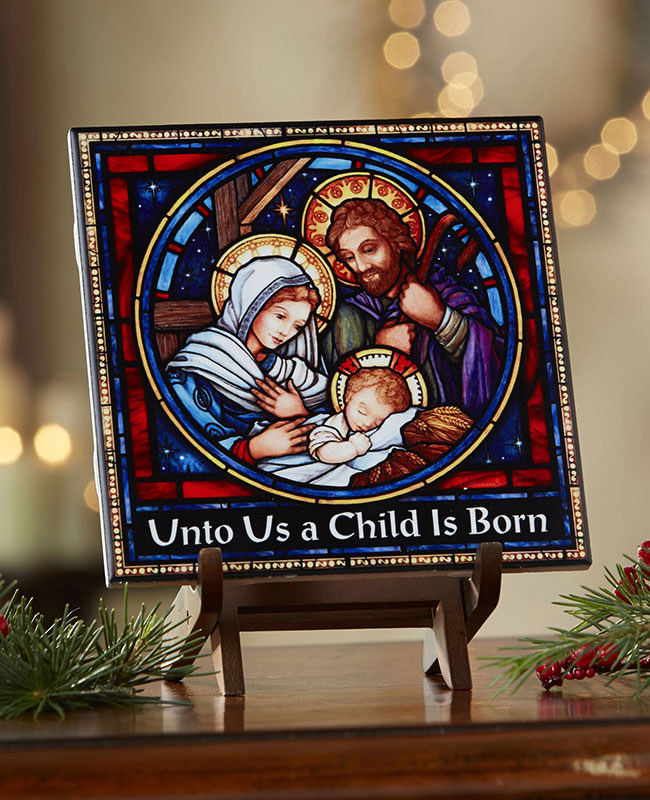 Nativity Ceramic Tile