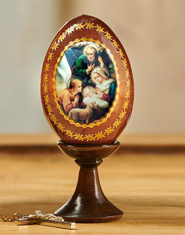 Nativity Icon Egg Small