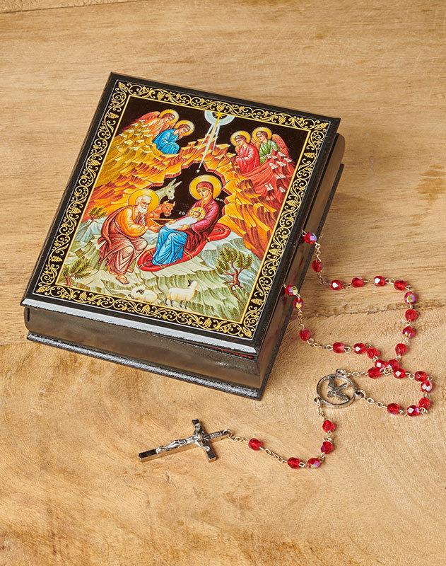 Nativity Ornate Box