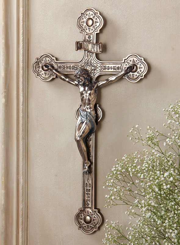 Ornate Wall Crucifix