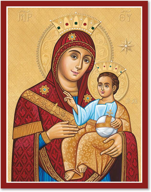 Our Lady of Bethlehem Icon
