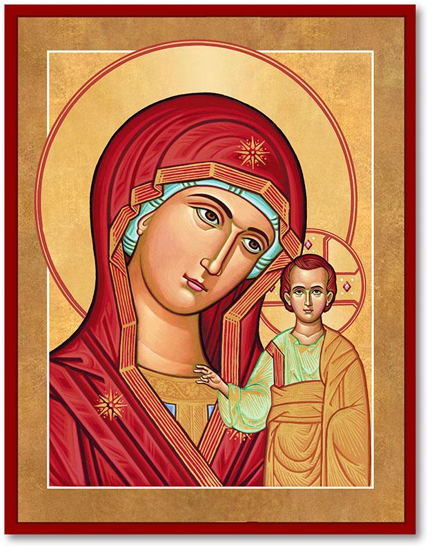Our Lady of Kazan Icon
