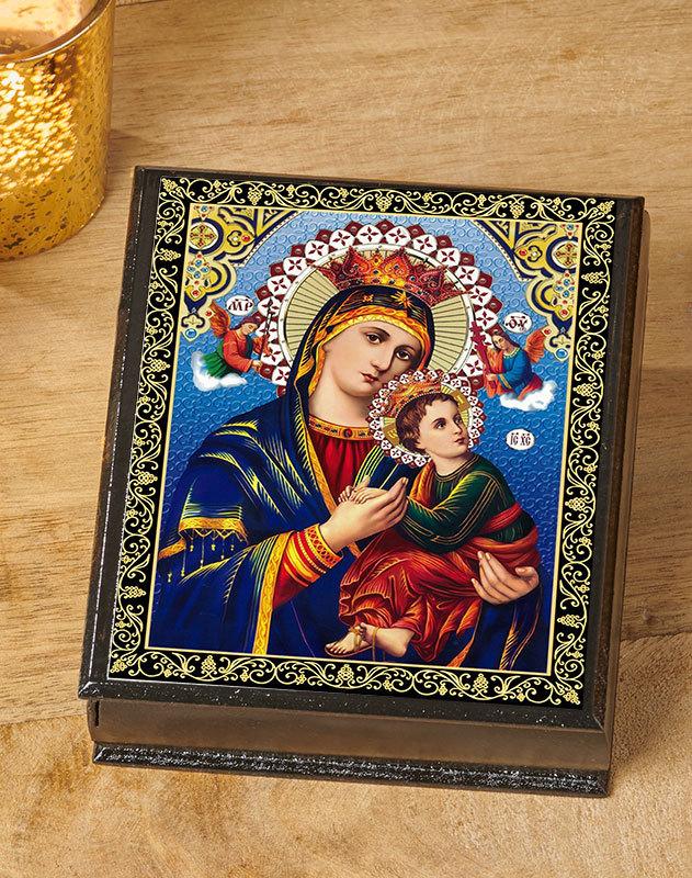Perpetual Help Ornate Box