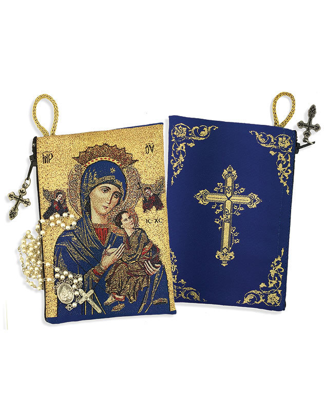 Perpetual Help Rosary Pouch