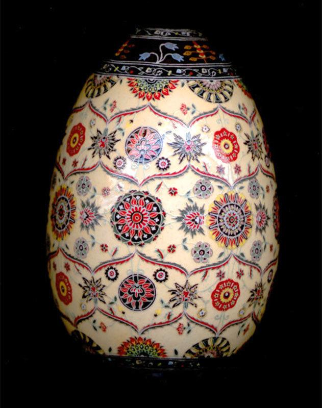 Persian Garden Fine Art Egg