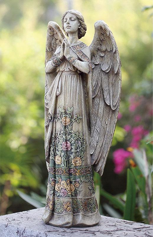 Praying Angel Garden Statue, Angel Outdoor Statues