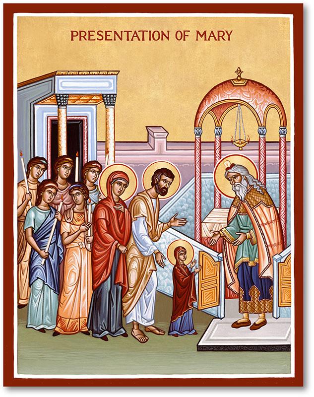 Presentation of Mary Icon