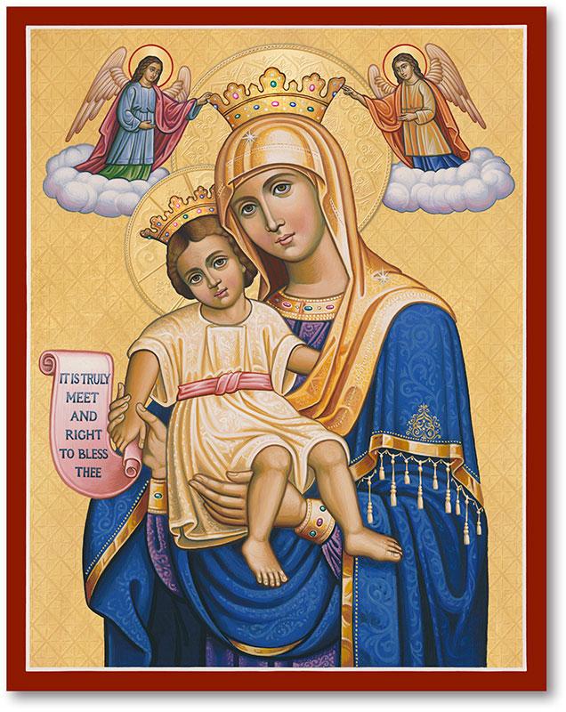 Queen of Heaven Icon