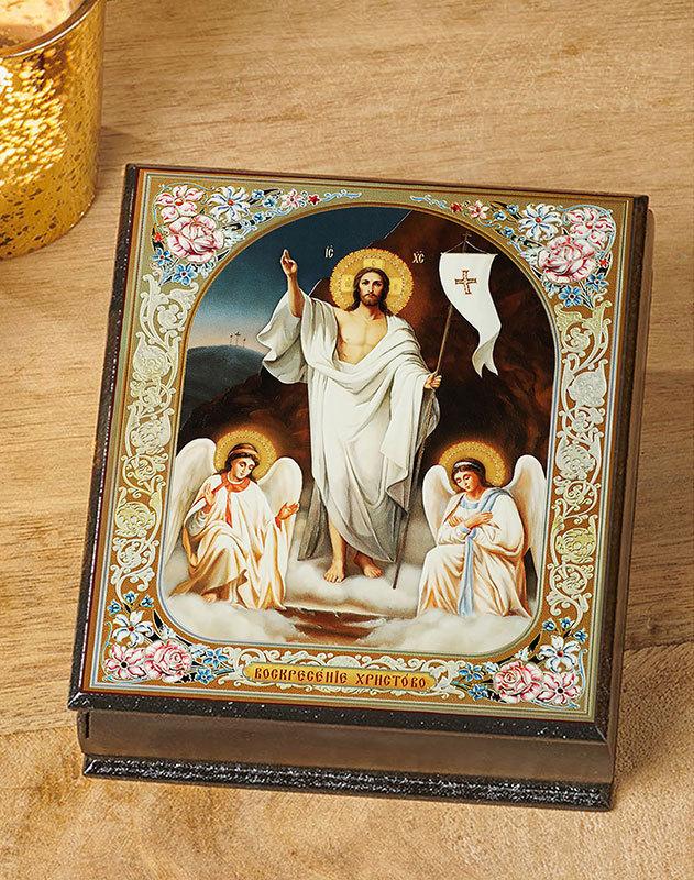 Resurrection Icon Keepsake Box