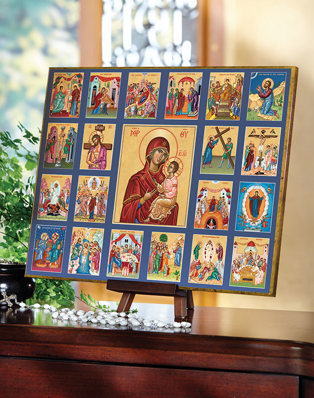 Rosary Contemplation Icon