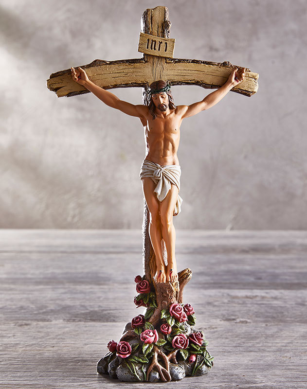 Roses Crucifix