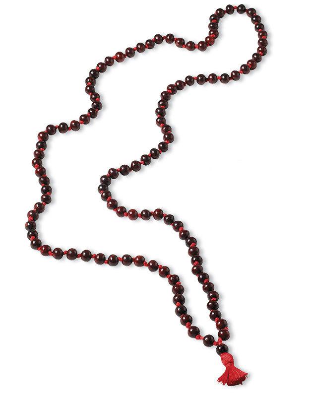 Rosewood prayer beads 100