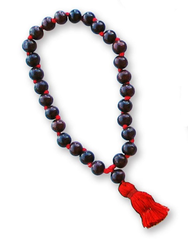 Rosewood prayer beads 25