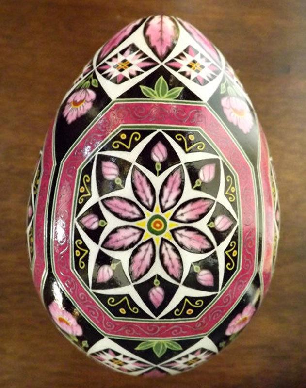 Russian Bloom Fine Art Egg
