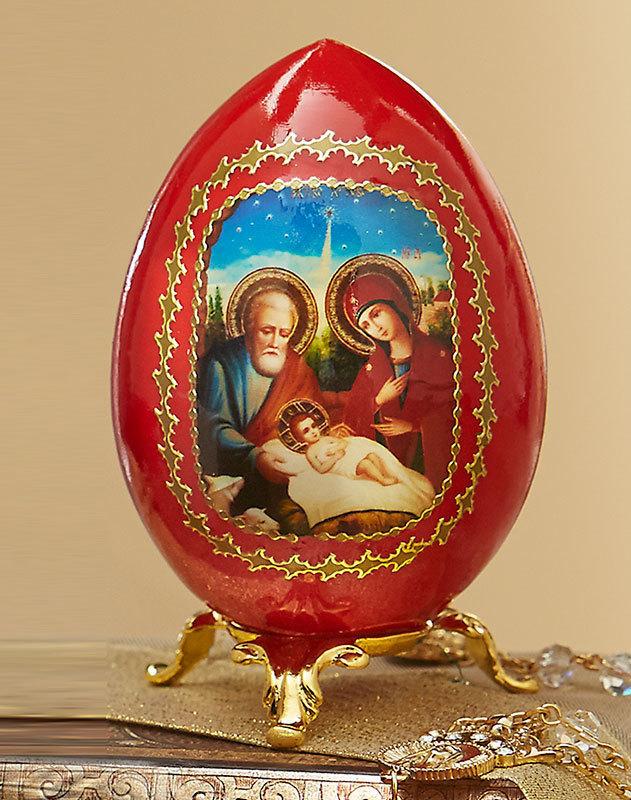 Russian Christmas Egg