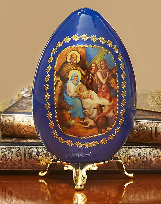 Russian Nativity Egg