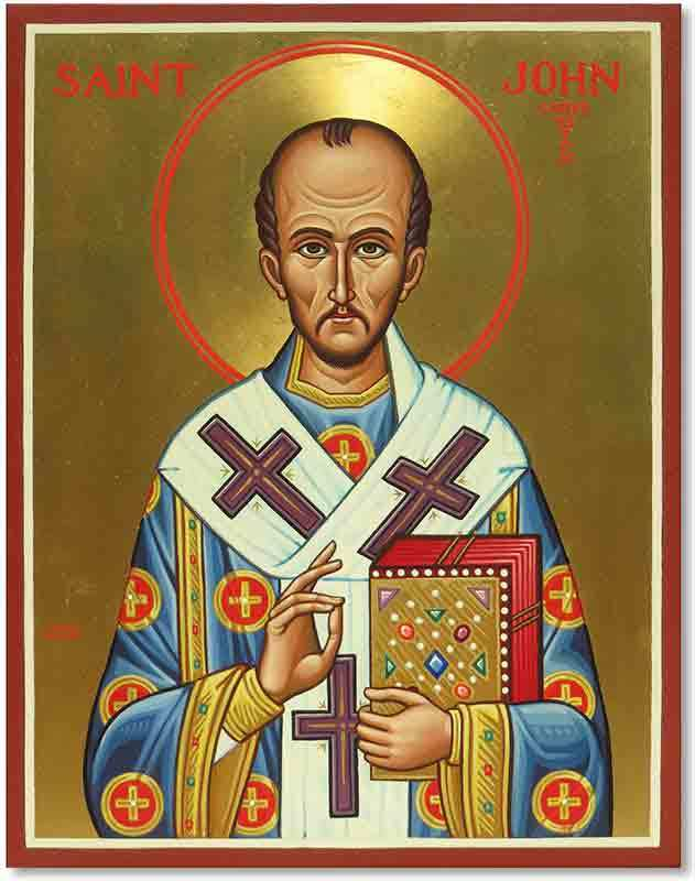 Saint John Chrysostom Original Icon