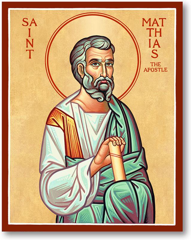 Men Saint Icons: Saint Matthias Icon | Monastery Icons