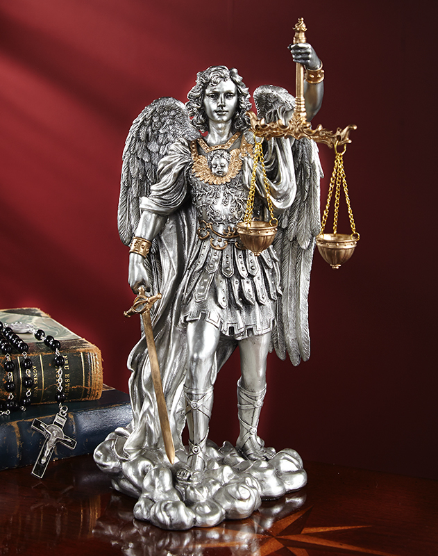 Saint Michael the Just Figurine