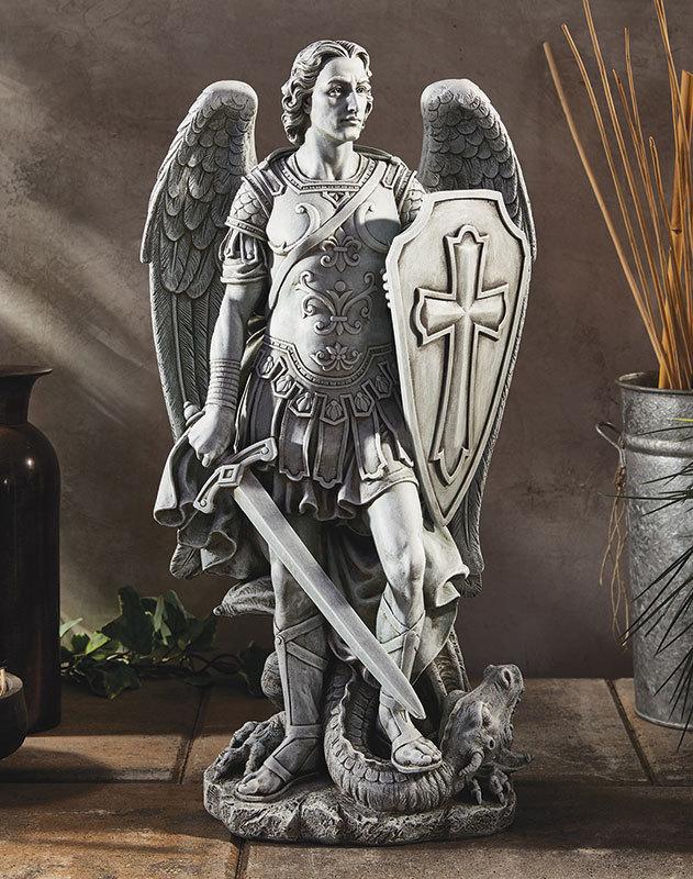 Saint Michael Victorious Statue