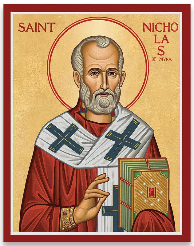 Saint Nicholas of Myra icon