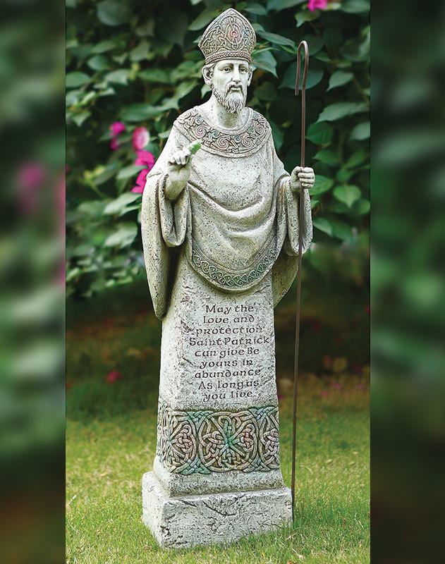 Saint Patrick Garden Statue