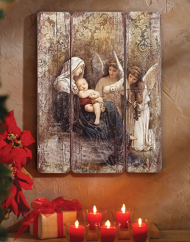 Song of the Angels Wall Plaque