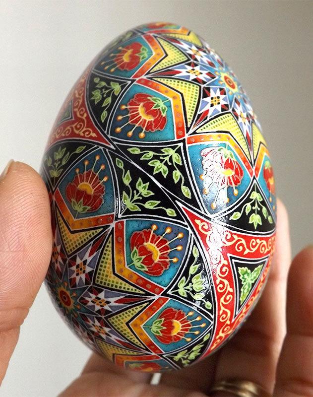 Spring Glory Fine Art Egg